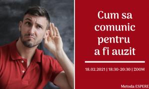 Private: Cum sa comunic pentru a fi auzit