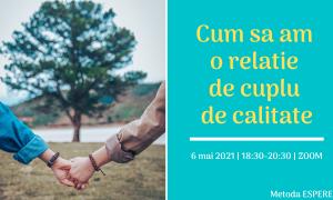 curs comunicare Cum sa am o relatie de cuplu de calitate