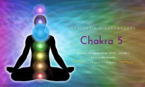 Meditatie cu sunete vindecatoare chakra 5