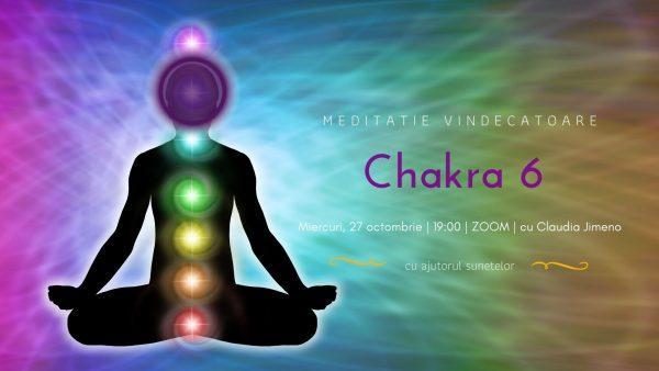 Meditatie cu sunete vindecatoare chakra 6